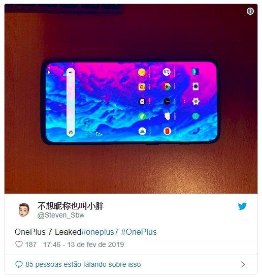 OnePlus 7 imagem foto