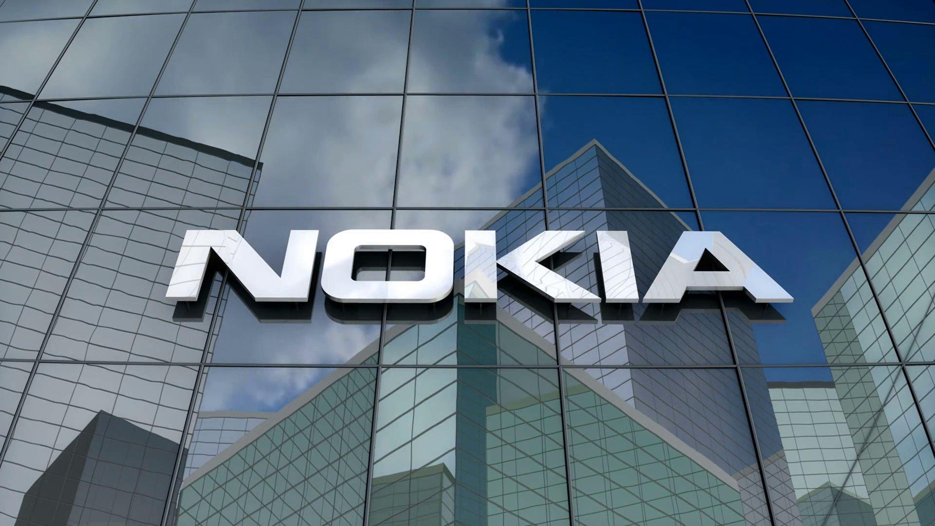 Nokia logo na sede
