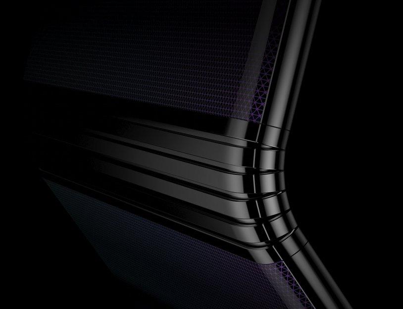 nova tecnologia ecrãs dobráveis