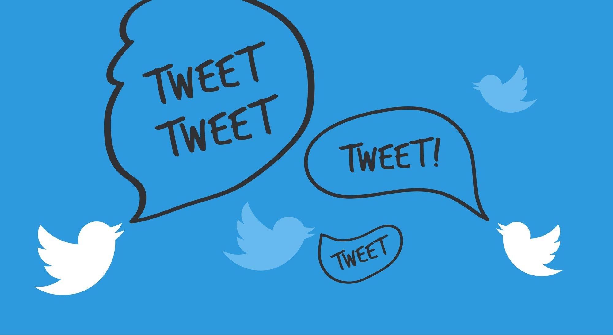 twitter tweets em passaros