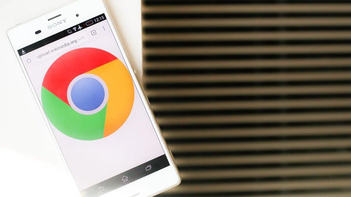 google chrome em dispositivo movel
