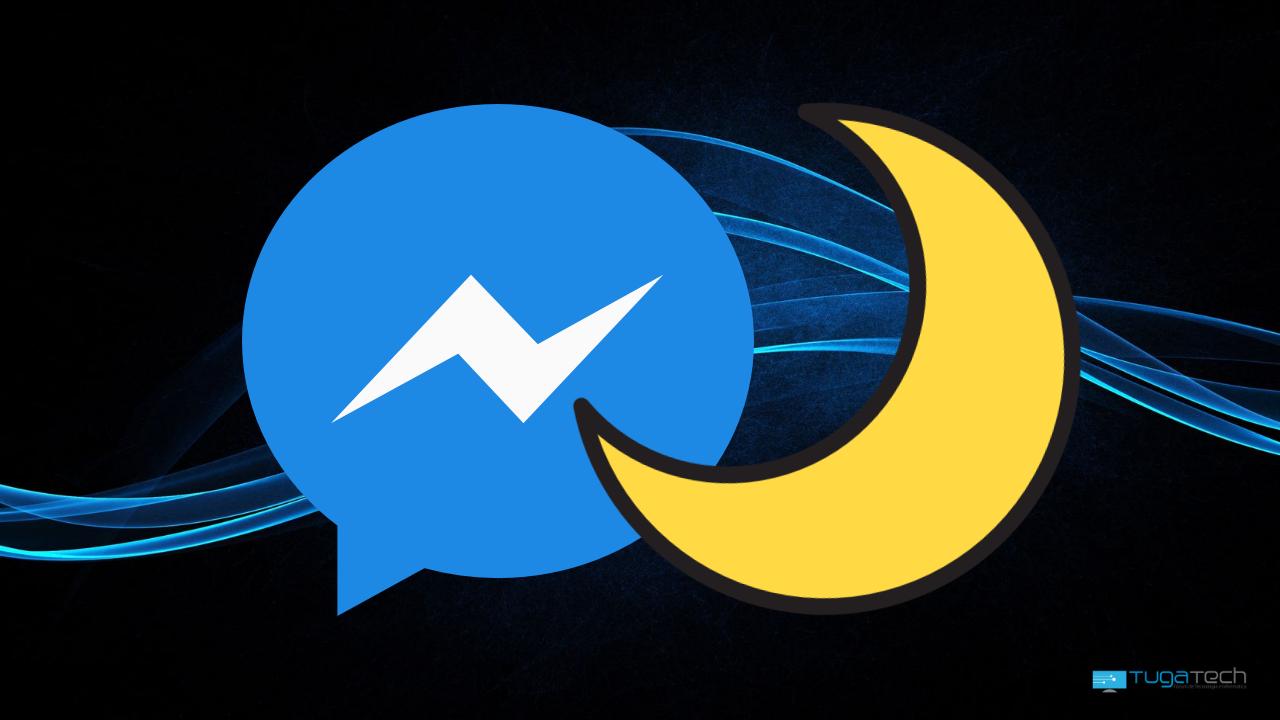 Messenger no modo escuro