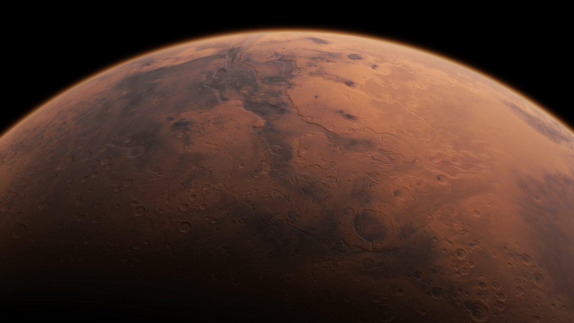 Foto do planeta Marte