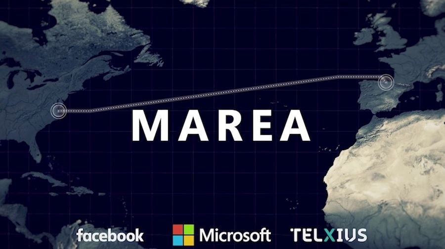 cabo marea do Facebook e Microsoft