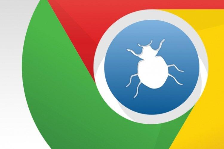 vulnerabilidade no google chrome logo