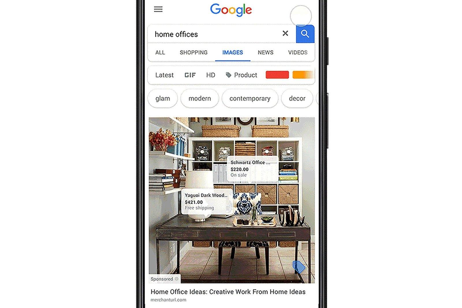 google imagens com publicidade