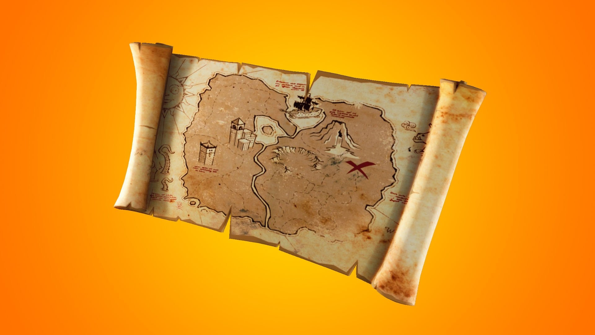fortnite e os mapas do tesouro