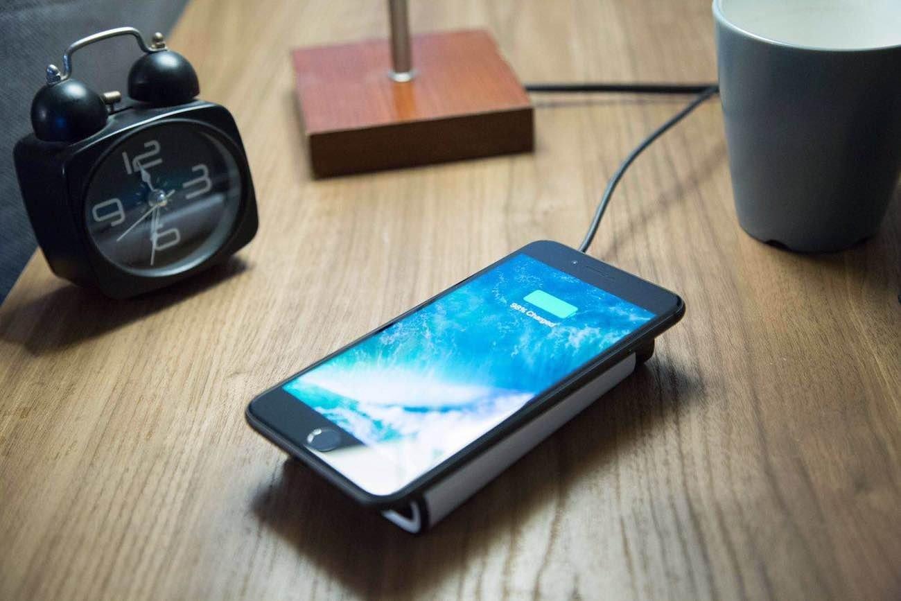 carregamento de smartphone sem fios