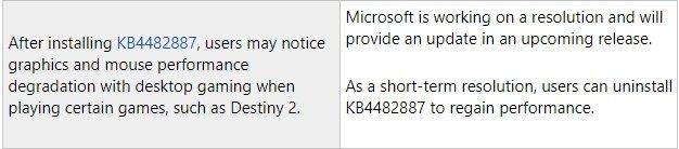 erro na atualização do windows 10