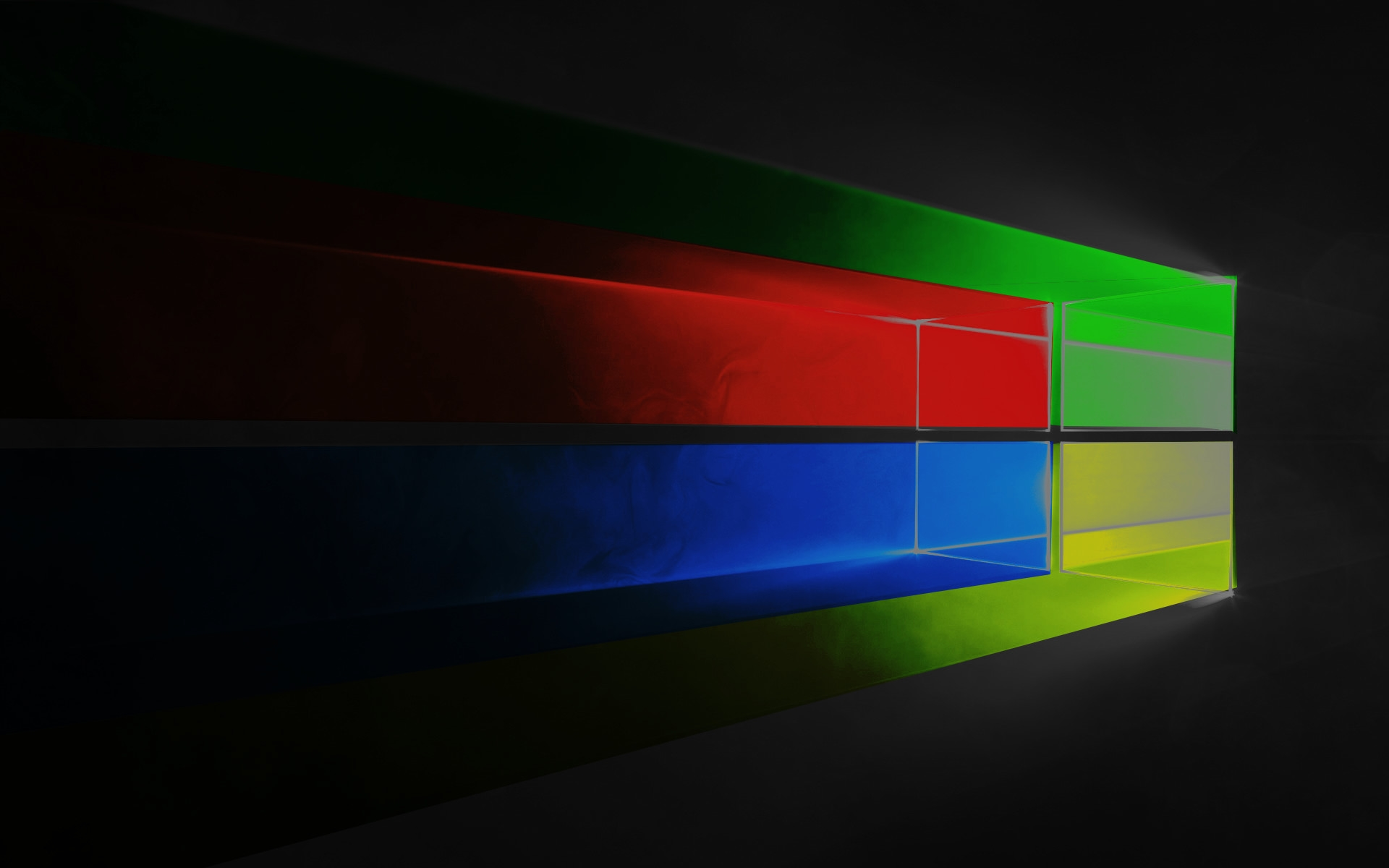 Windows 10 logo em cores