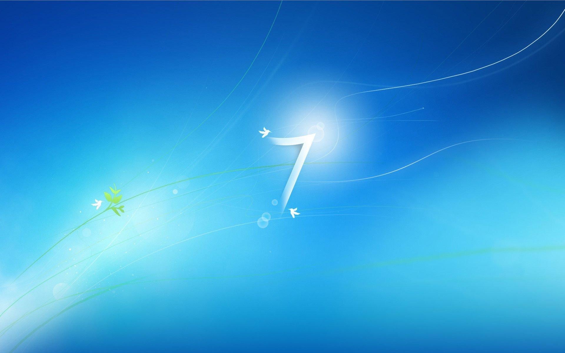 Wallpaper do Windows 7 na sua versão antiga