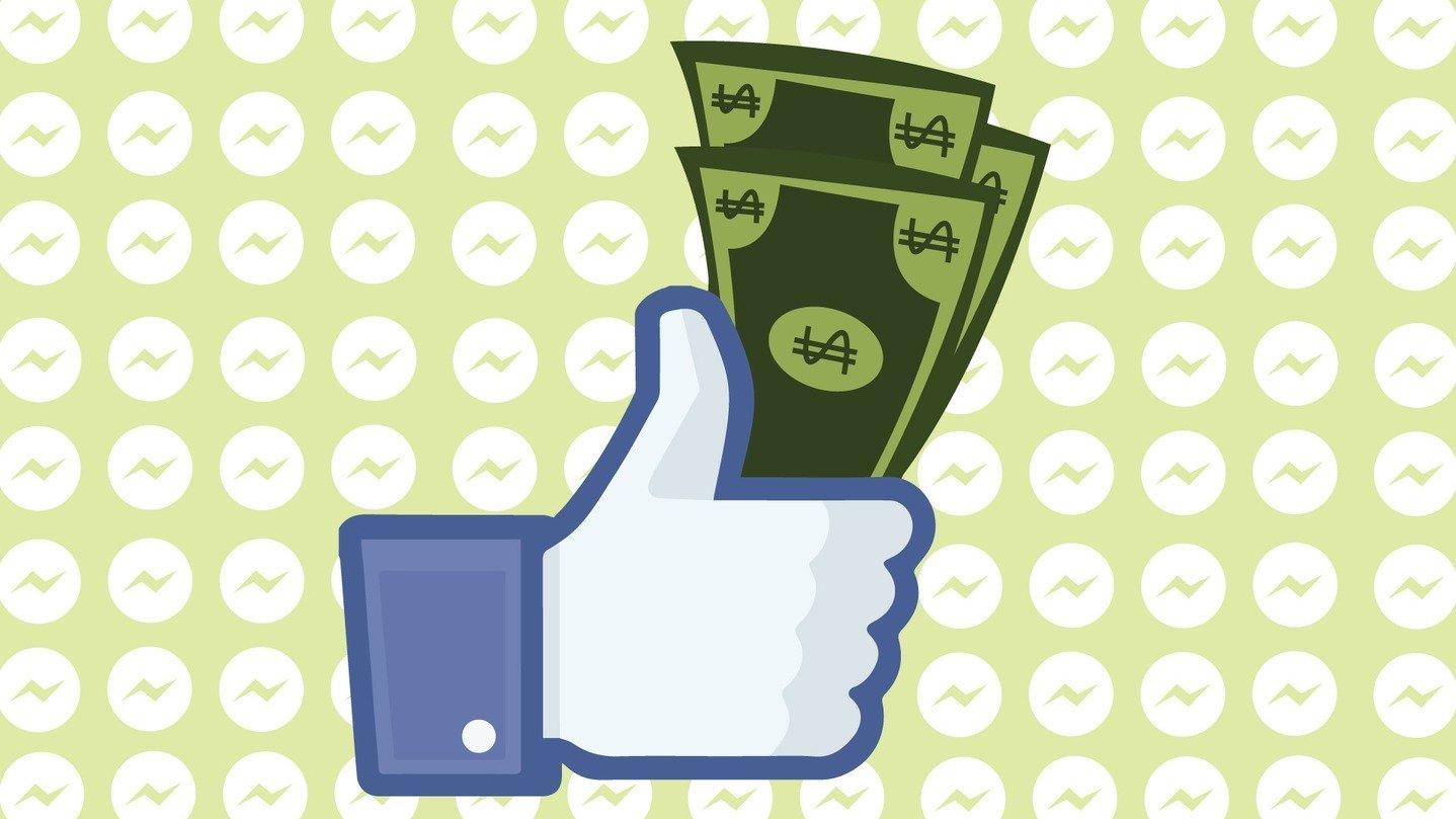 sistema de pagamentos pelo Facebook