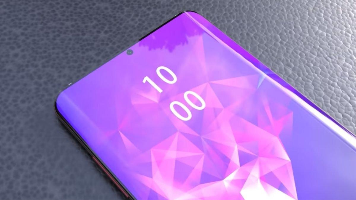 ecrã de smartphones fabricado pela Samsung