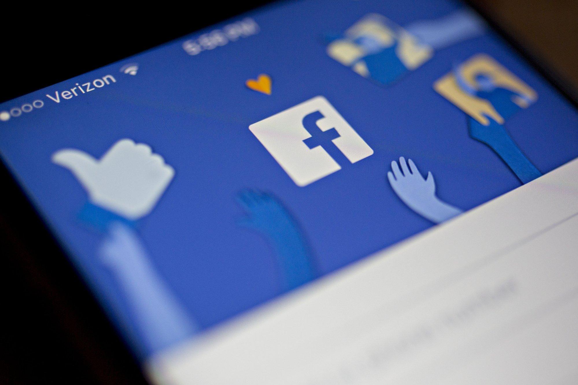 facebook sobre uma aplicação móvel