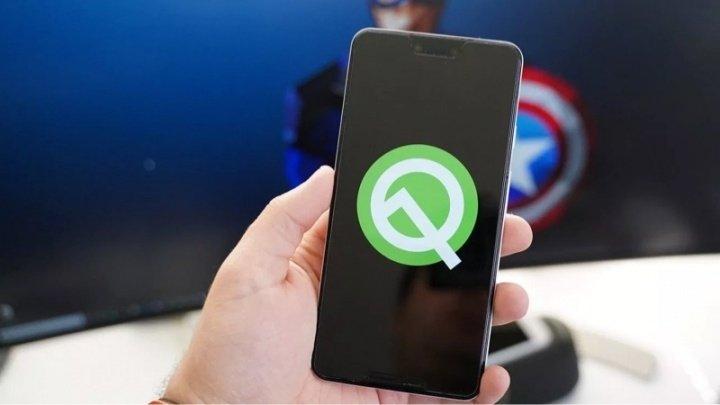 Android q em smartphone