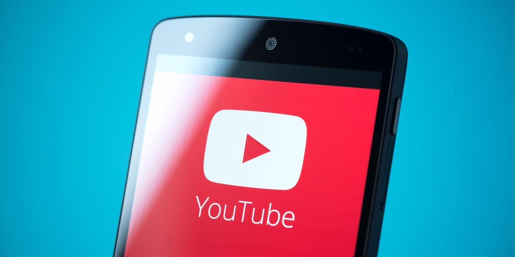 youtube em smartphone