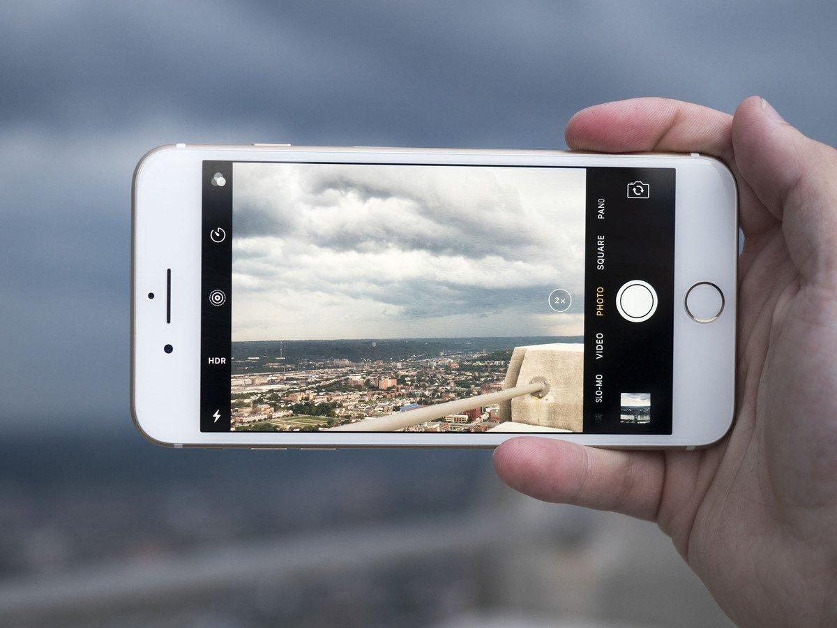 câmara de smartphone