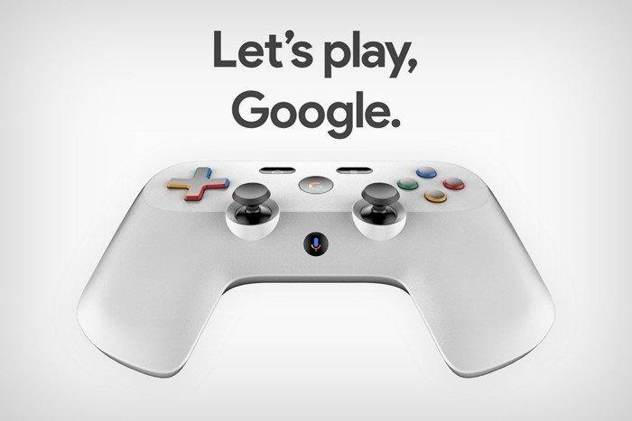 imagem do comando da Google
