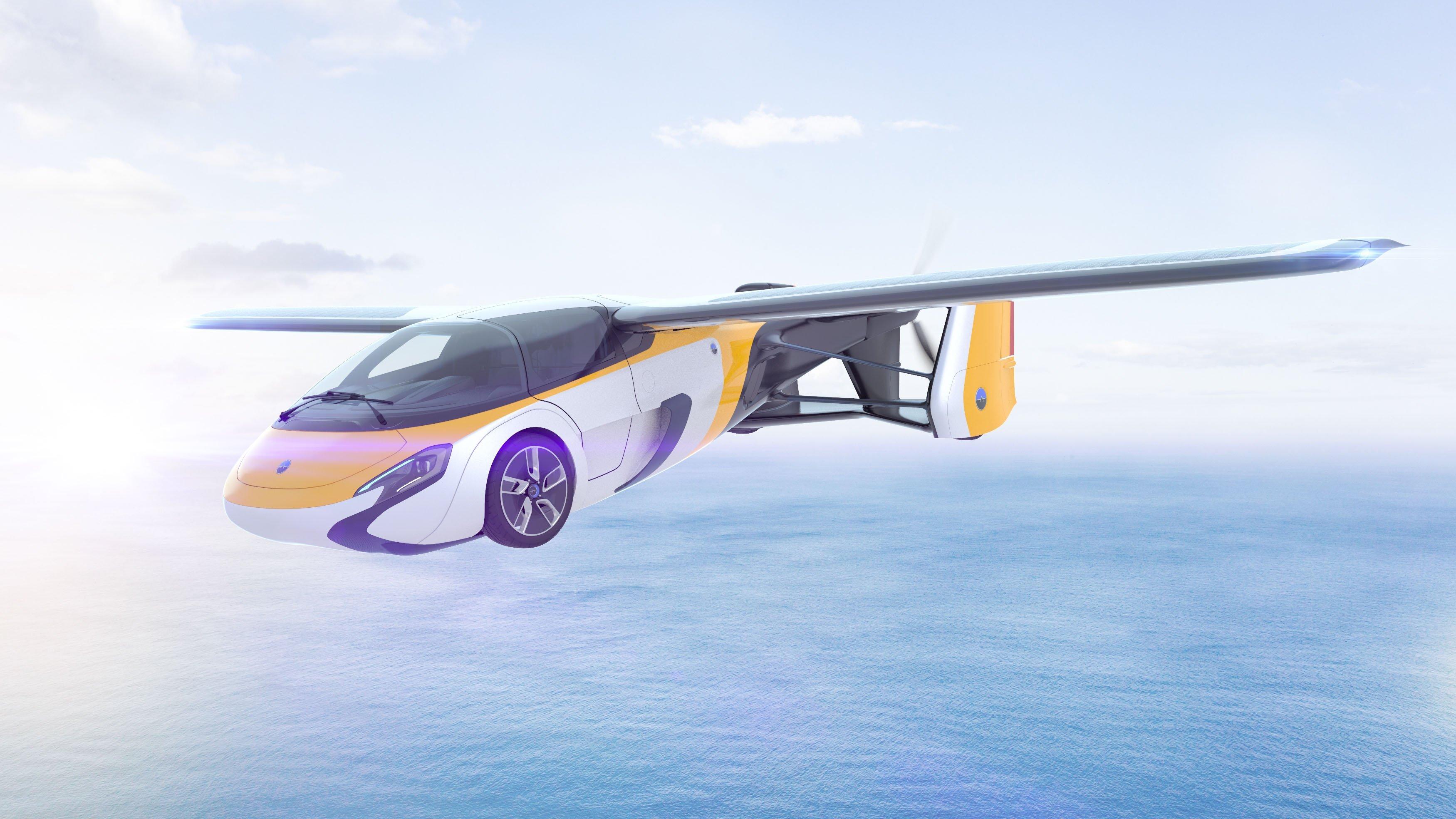 carro voador em imagem