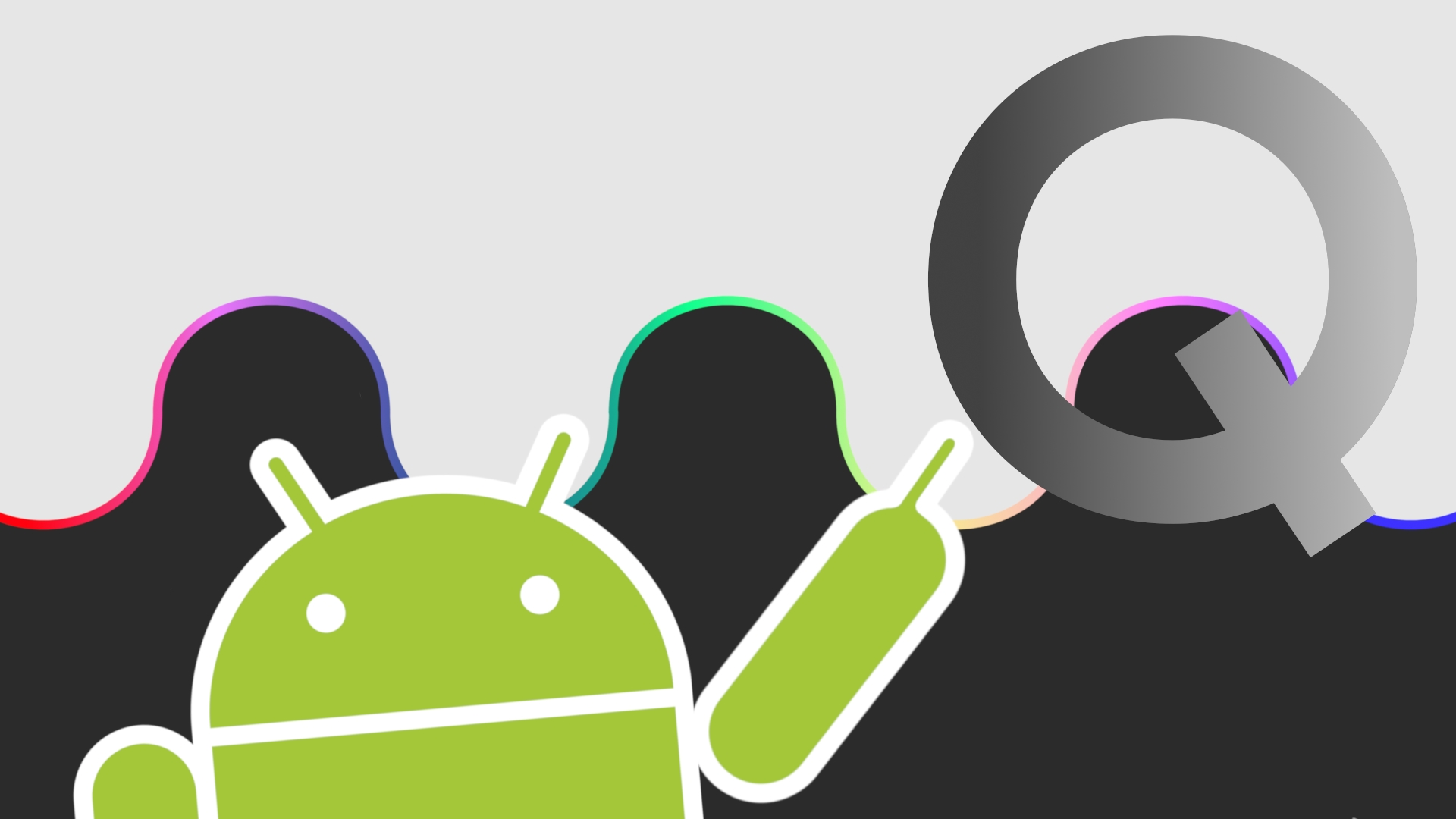 logo do android q