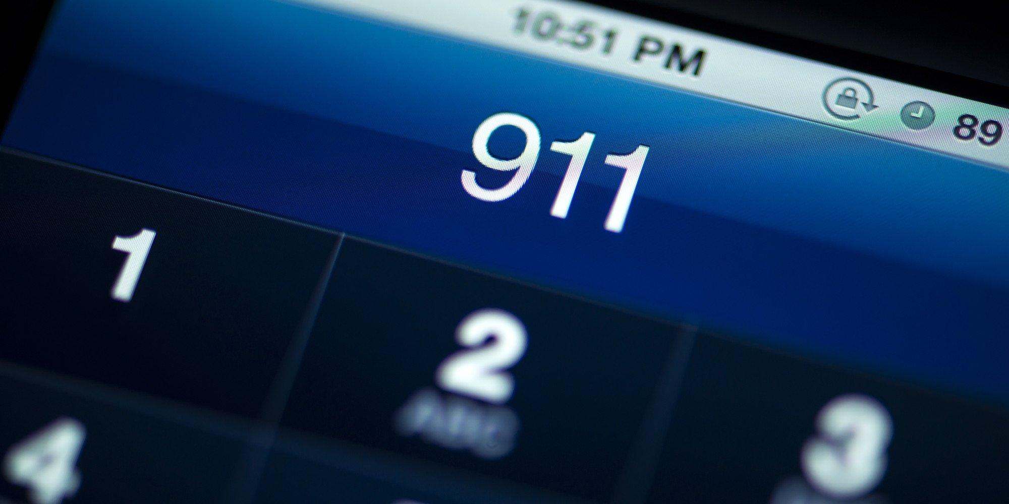 911 chamada de emergencia