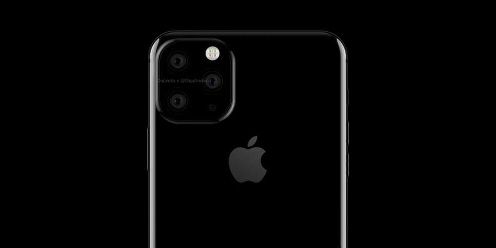 apple iphone com câmaras trasieras quadradas