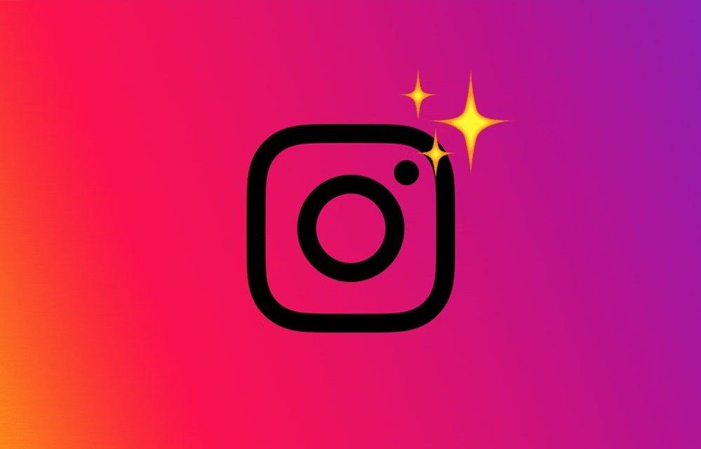 Instagram com estrelas