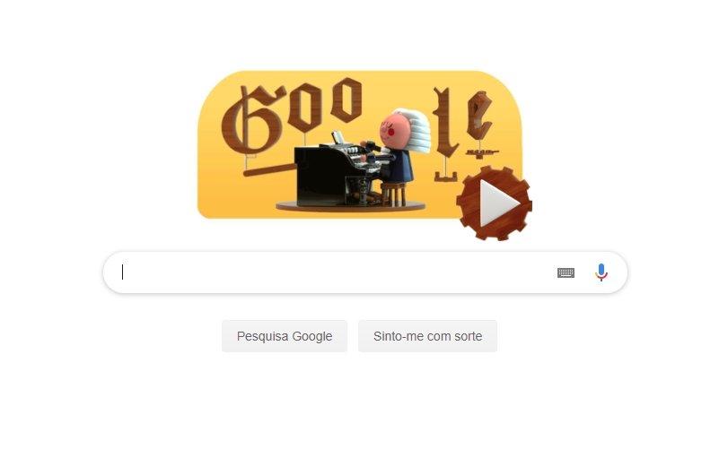 Primeiro doodle com IA da Google