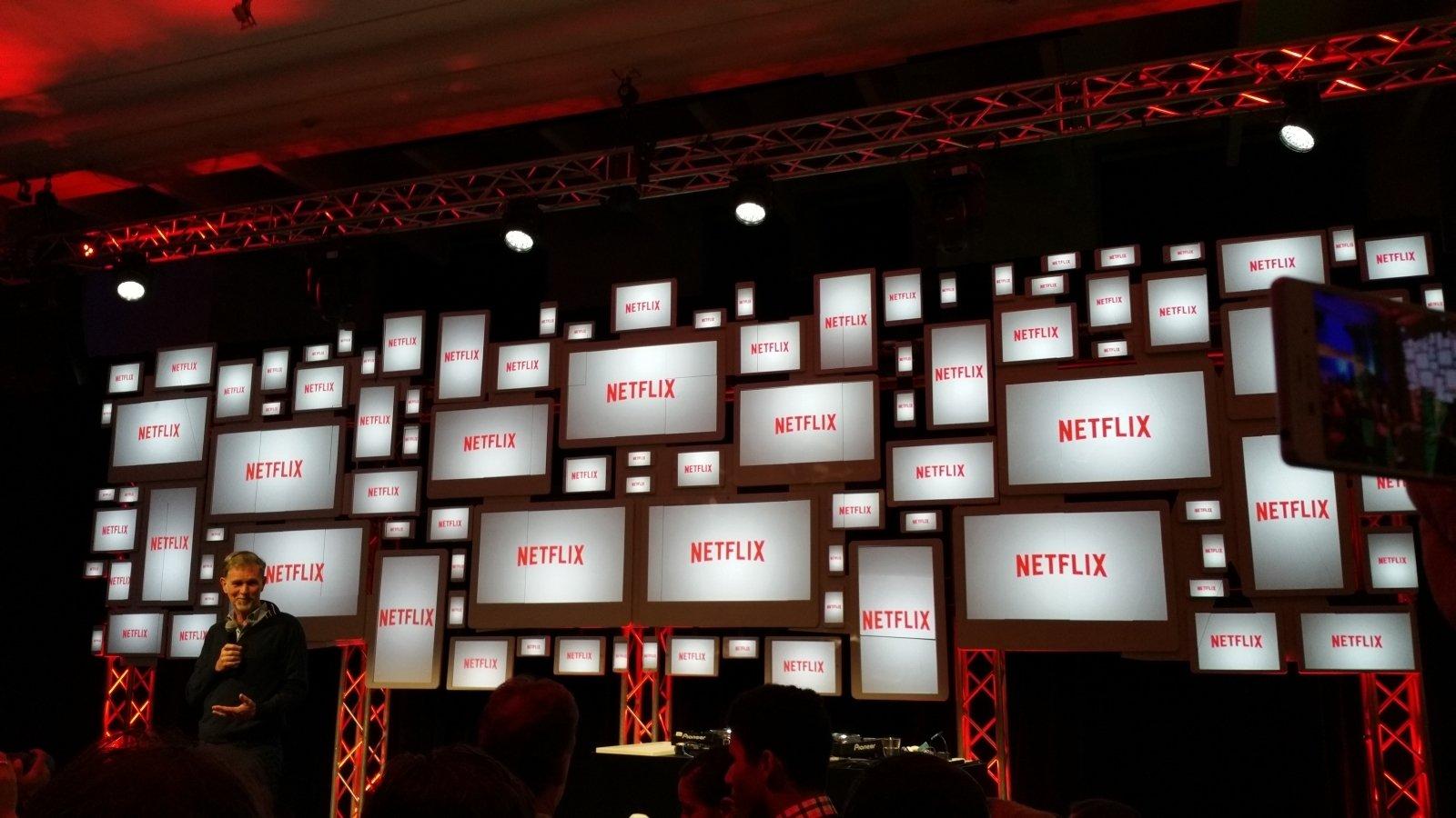 Netflix em vários ecrãs