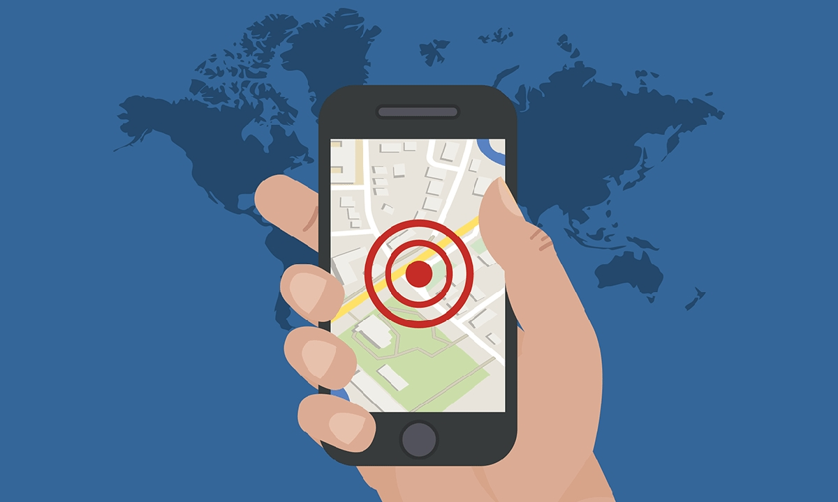 smartphone tracking app