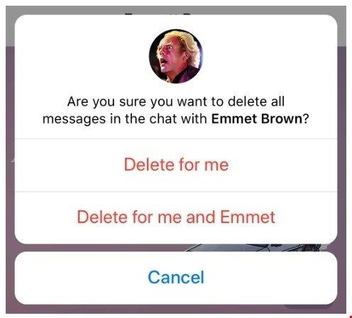 mensagem removida no telegram
