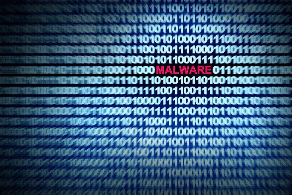 Malware sobre código branco
