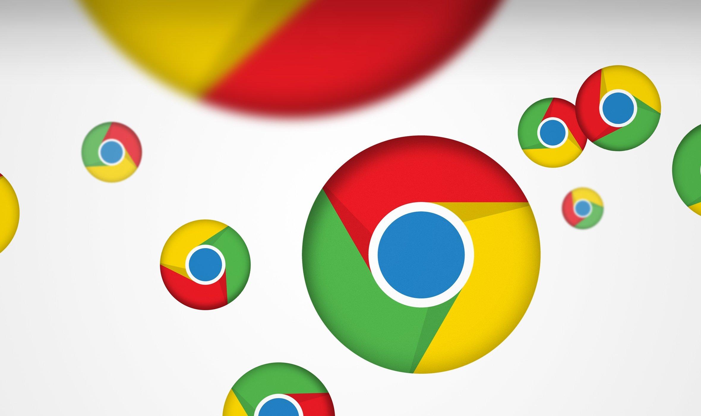 Google chrome logos saltitões