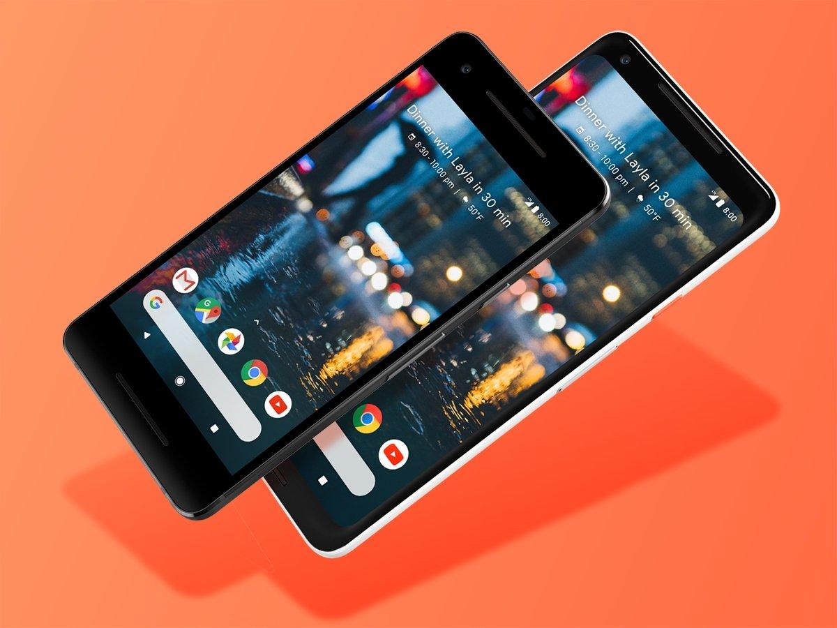 Google Pixel 2 e 2 XL