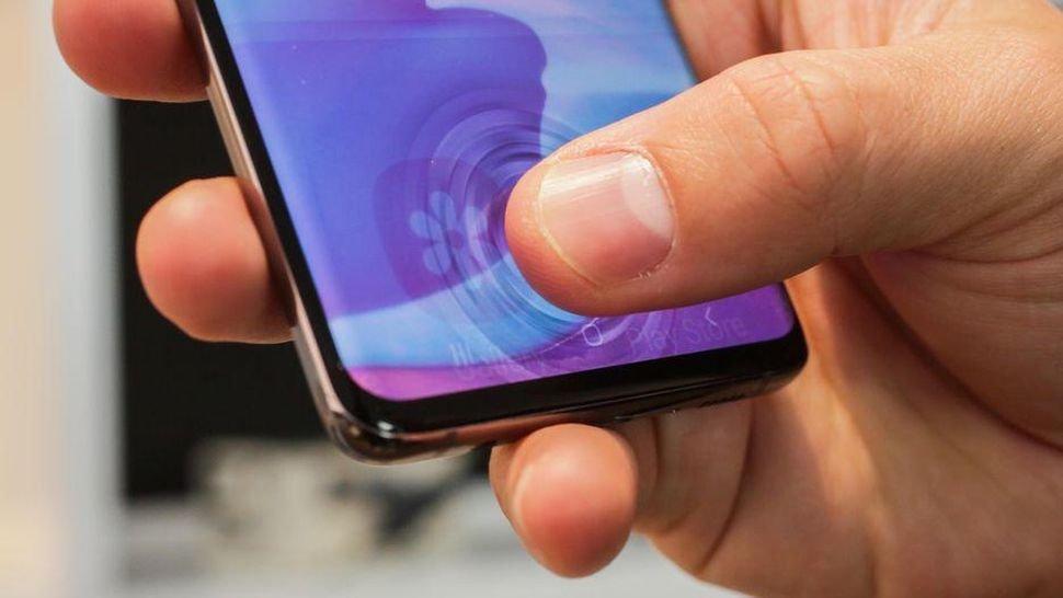 Impressões digitais no Galaxy S10