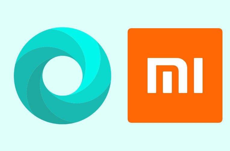 Navegador nativo da Xiaomi