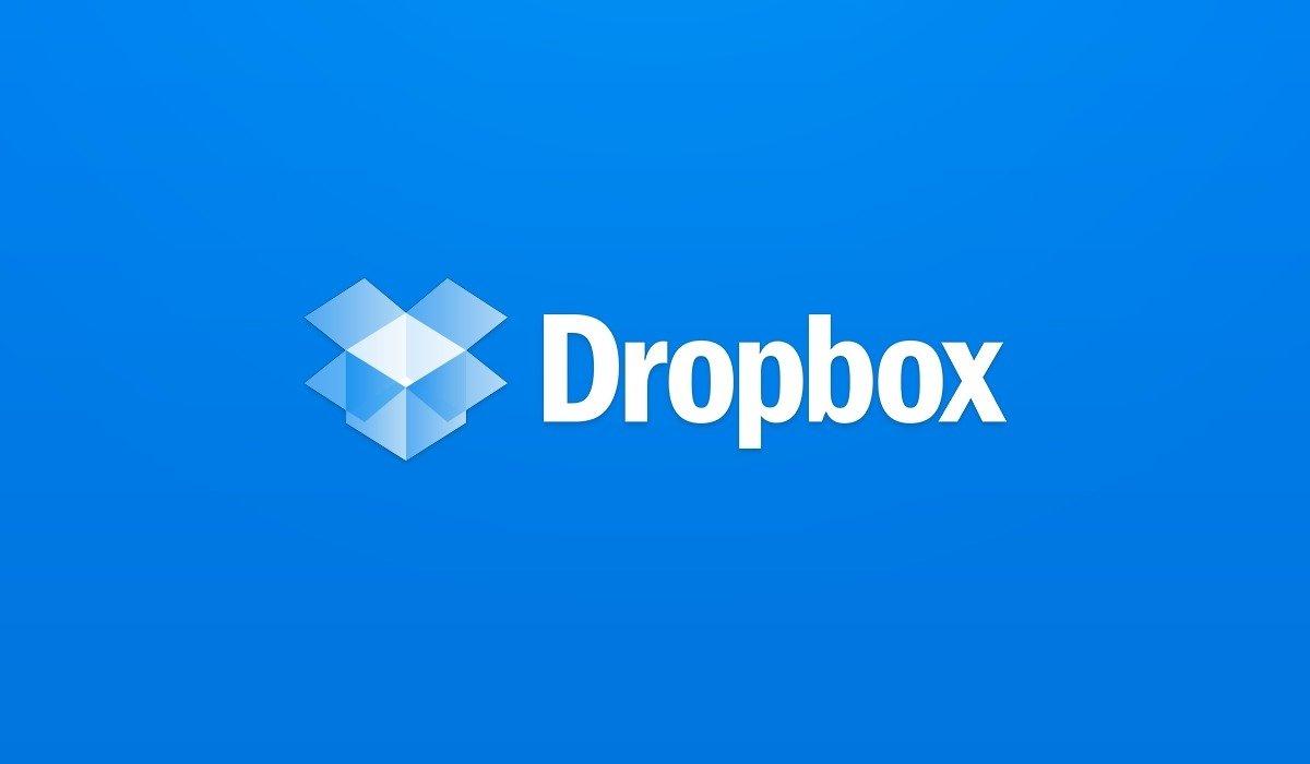 dropbox logo azul