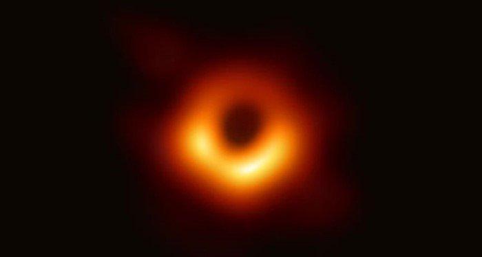 buraco negro foto real