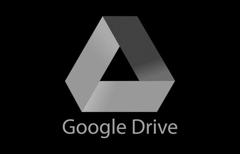 google drive escuro