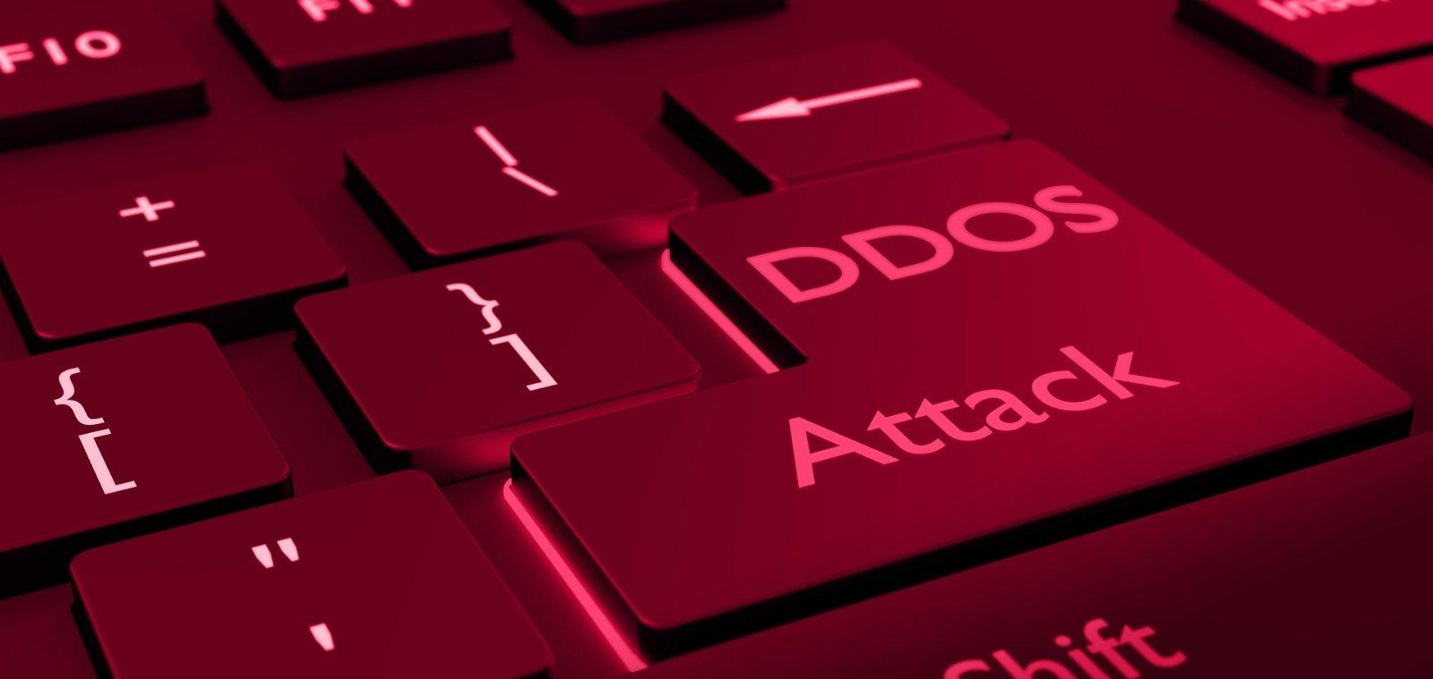 ataques DDoS sobre teclado