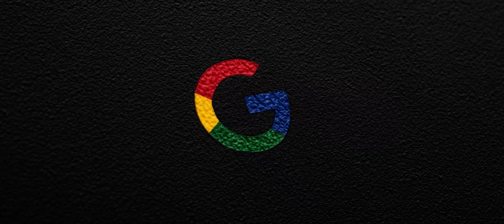 Google logo em pele