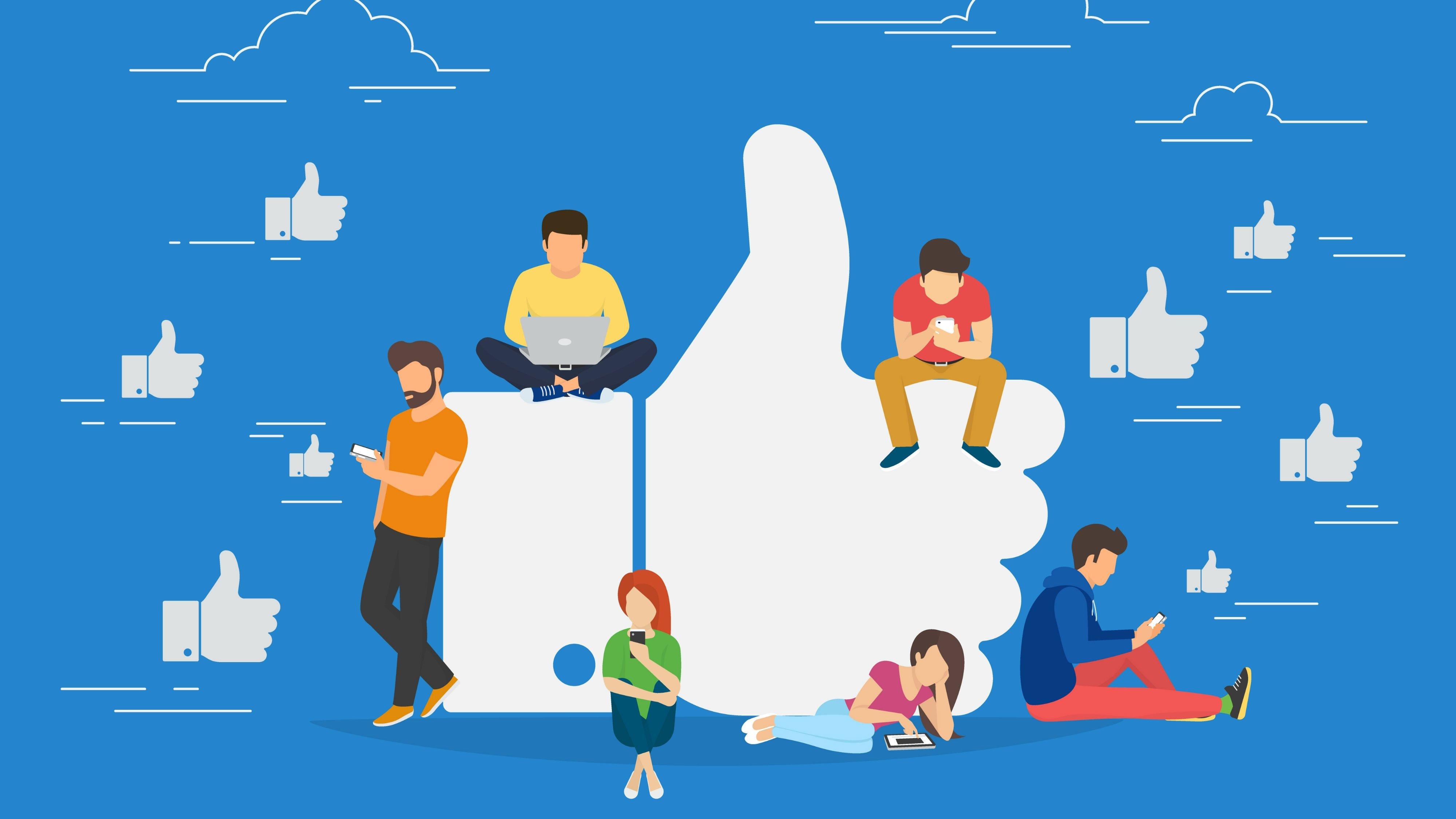 facebook like grande