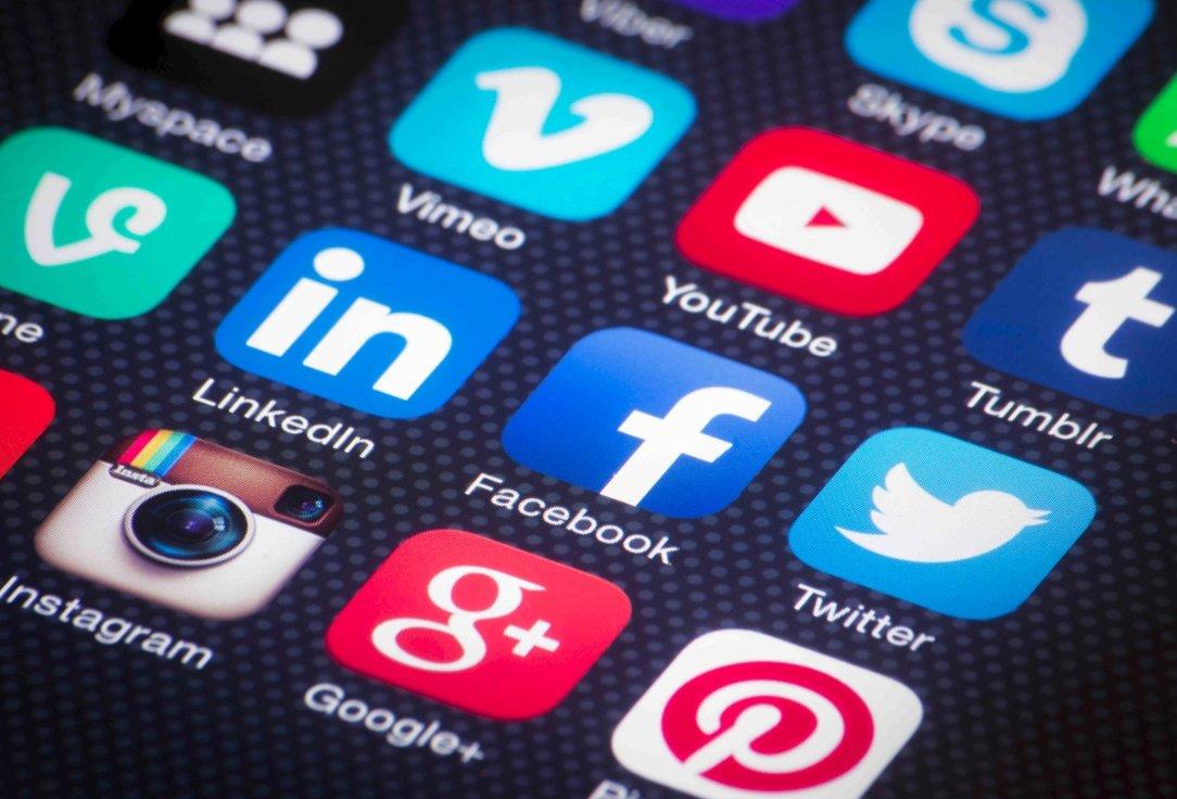 redes sociais bloqueadas