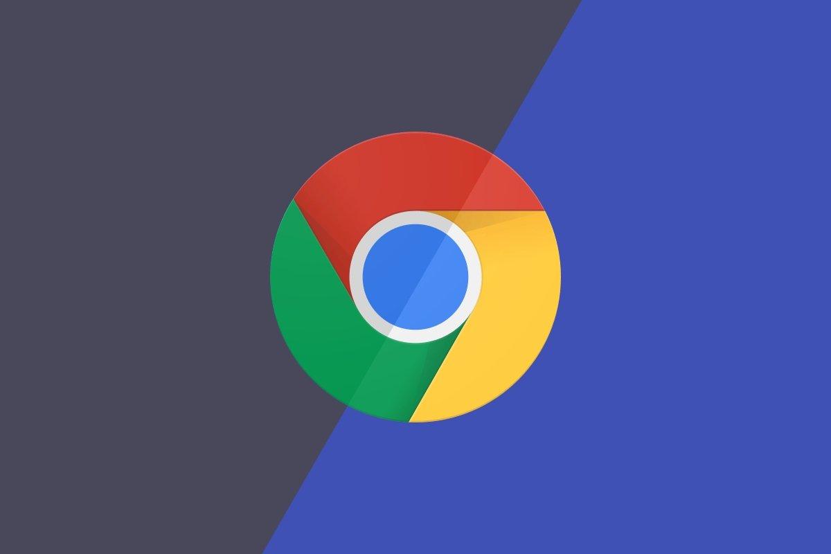 Chrome em modo escuro