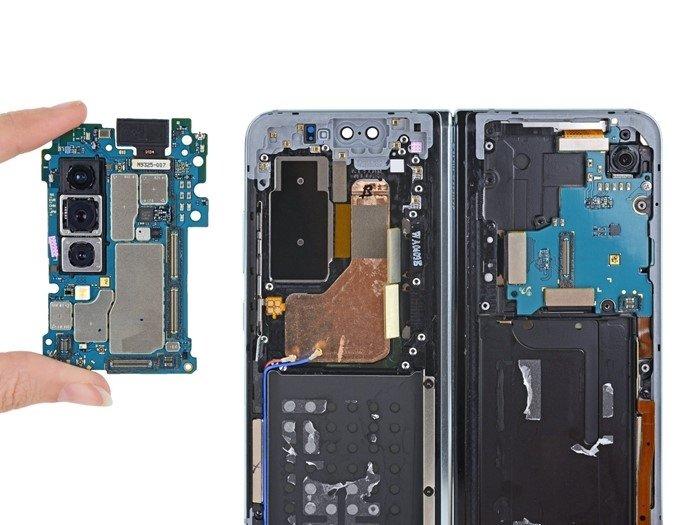Interior do Galaxy Fold da Samsung