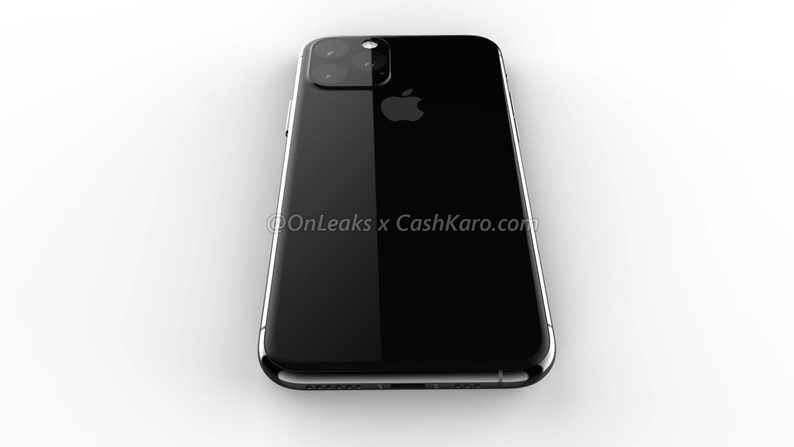 imagem traseira do iphone 11