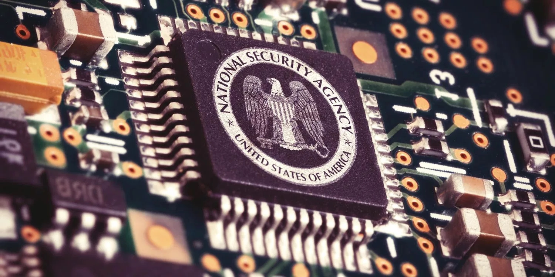 NSA sobre chip de computador