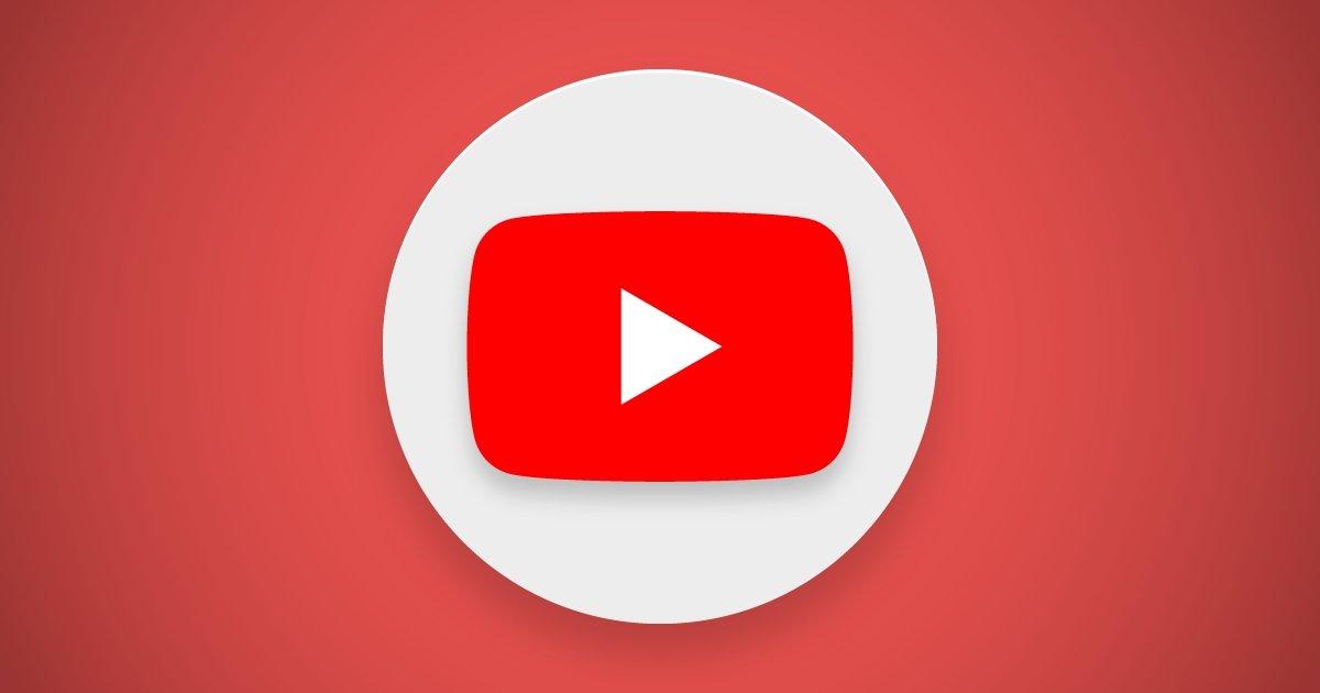 Youtube sobre círculo