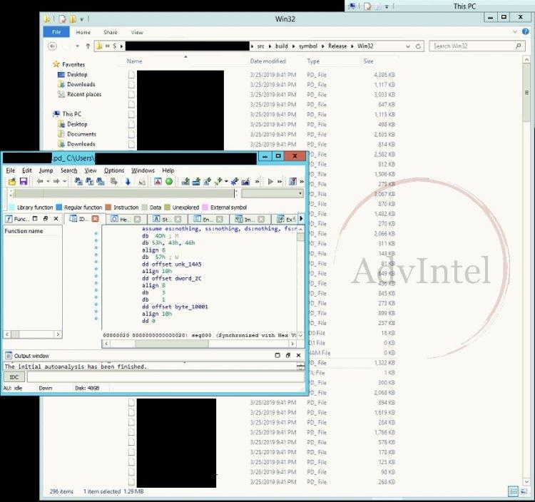 alguns dos códigos detetados pela empresa