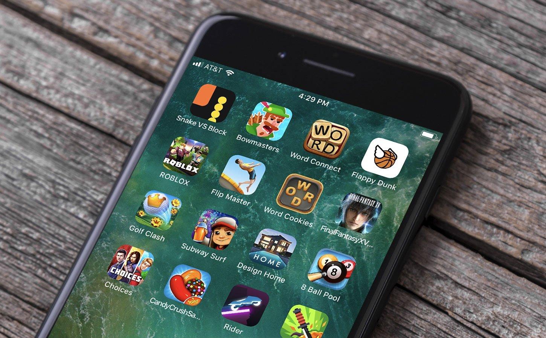 smartphone games